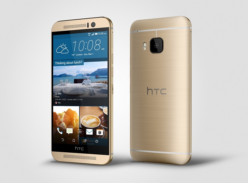 HTC-One-M9-Gold-Left