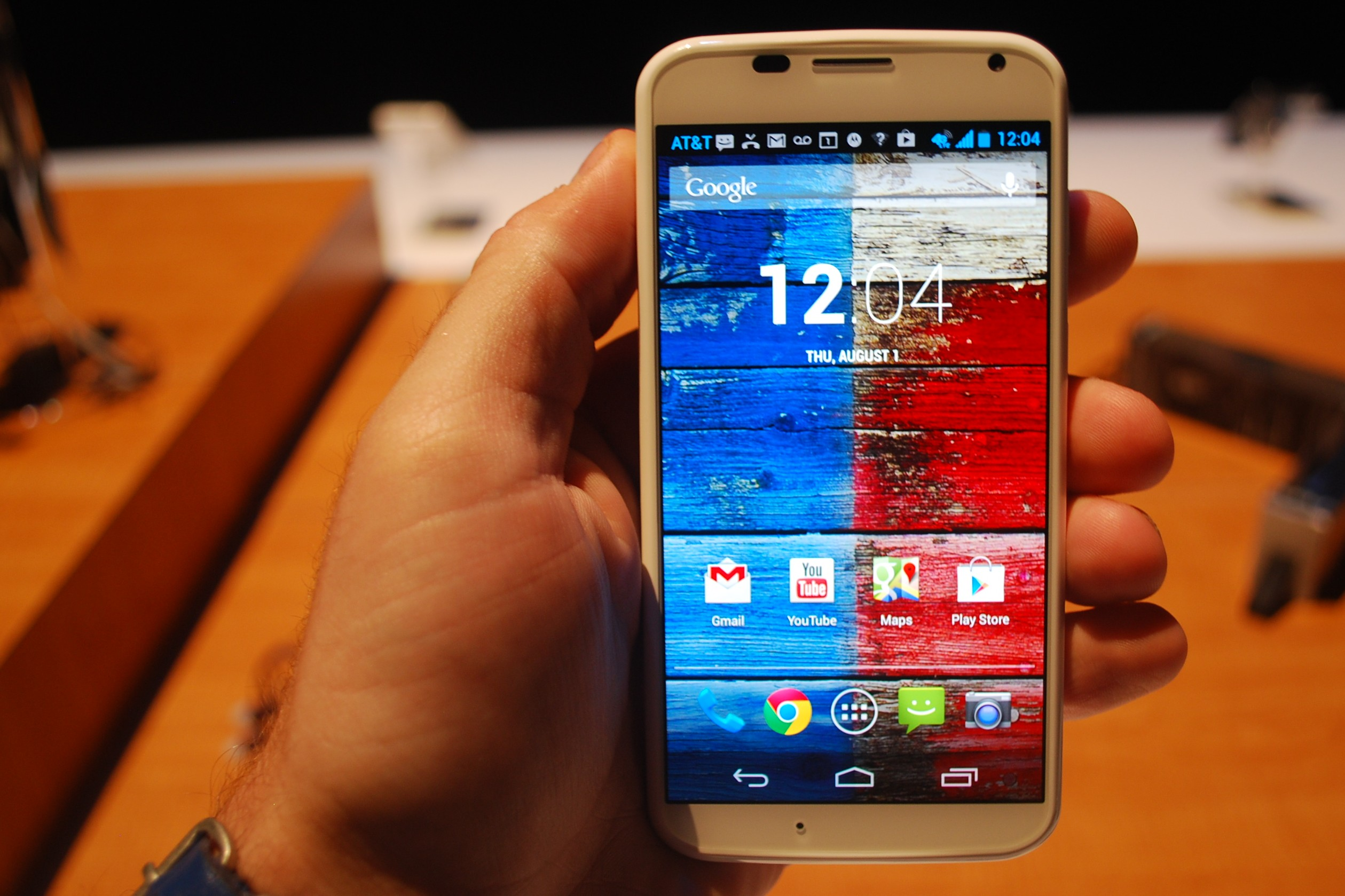 Motorola Moto X 2013 Android 5.1 Lollipop