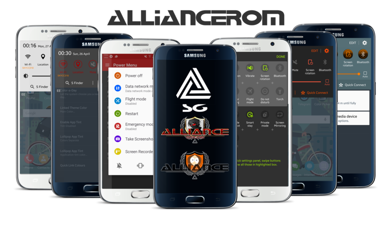 AllianceROM Samsung Galaxy S6 Uyumlu Custom Android ROM'lar