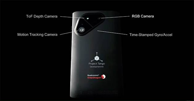 Google ve Qualcomm'dan Project Tango Akıllı Telefon