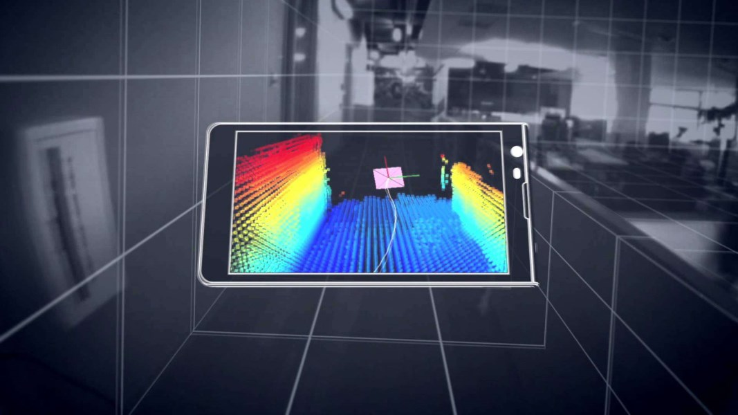Google ve Qualcomm'dan Project Tango Akıllı Telefon 2,