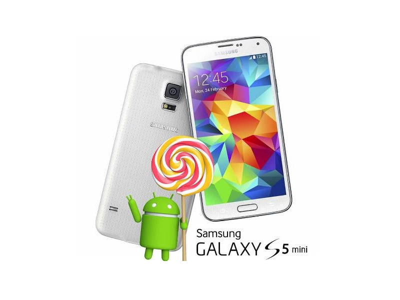 Samsung Galaxy S5 mini lollipop
