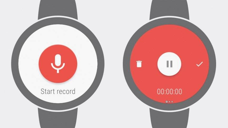 Wear Audio Recorder En İyi Android Wear Uygulamaları