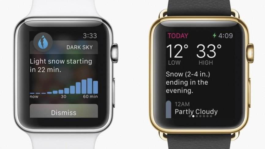 dark-sky-En İyi Apple Watch Uygulamaları