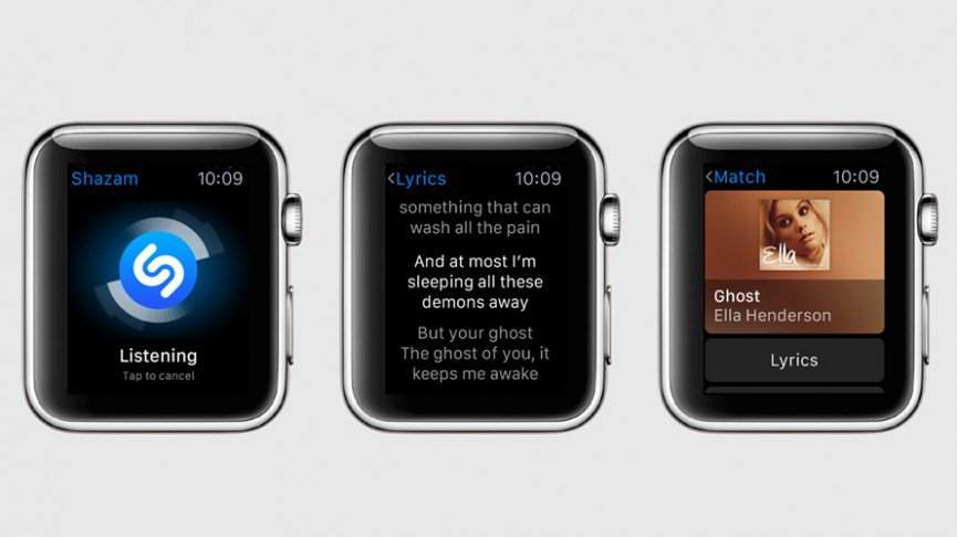 shazam-En İyi Apple Watch Uygulamaları