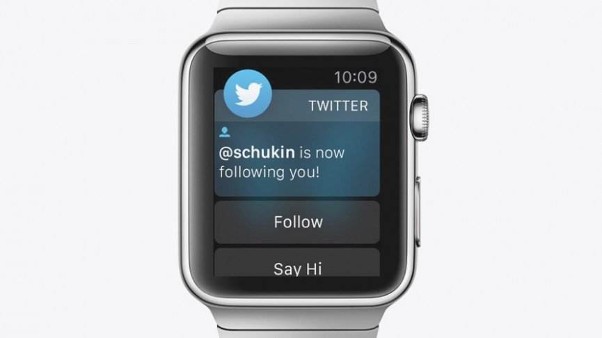 twitter-En İyi Apple Watch Uygulamaları