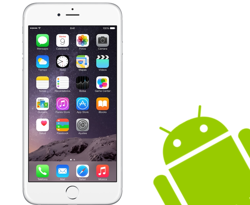 Android'den iPhone'a Rehber Aktarmak