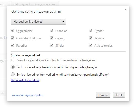 Google Password Manager İle Parolaları Eşitlemek 2