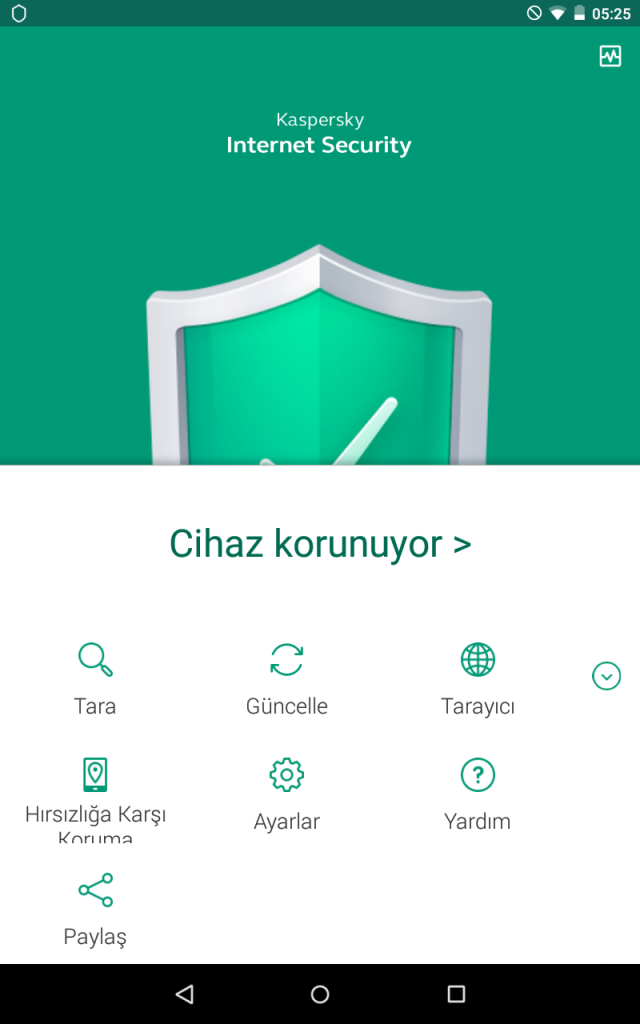 Kaspersky Internet Security for Android Planlı Güncelleme 1