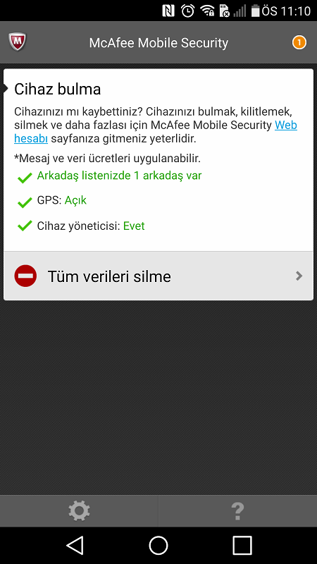 McAfee Mobile Security2