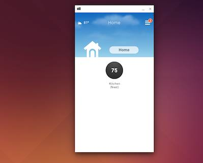 linux chrome android app
