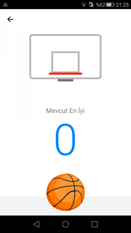 Facebook Messenger'da Basketbol Oynamak
