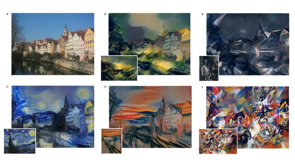 DeepStyle Neural Paintings