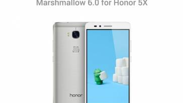 Honor 5X Android Marshmallow 6.0