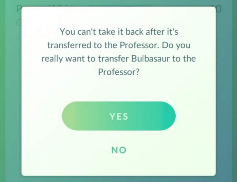 pokemon'da transfer