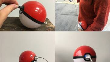 Pokeball USB Charger