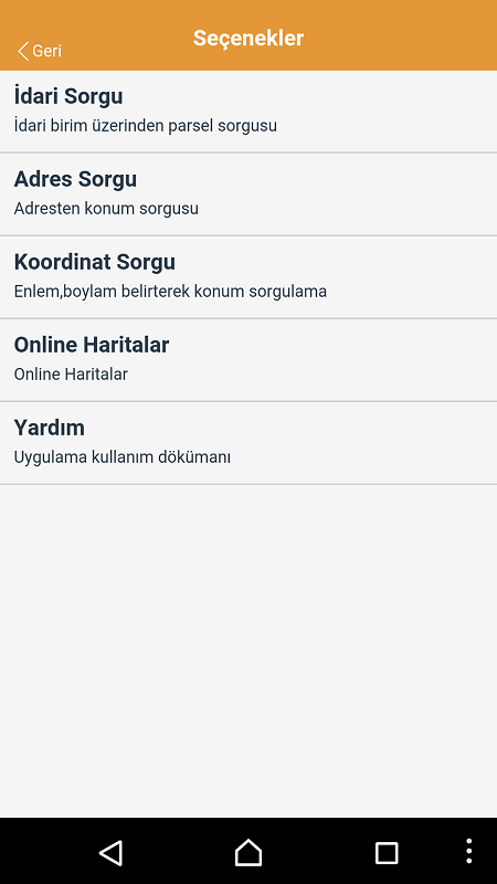 Android ve iOS Parsel Sorgulama (2)