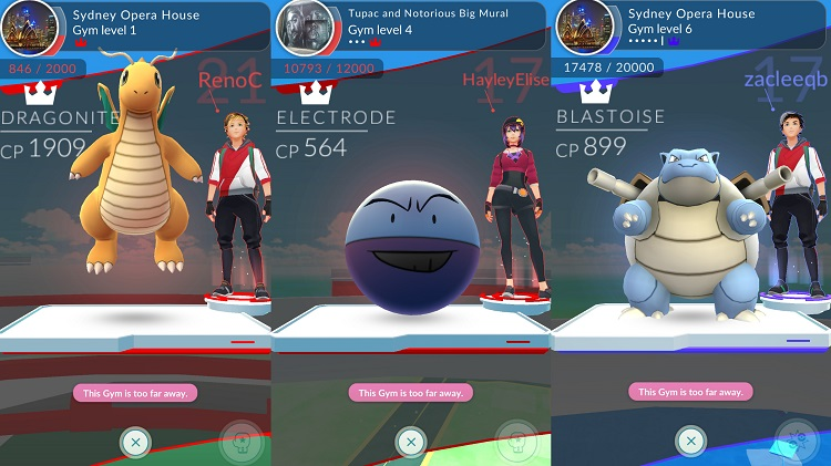 Pokemon GO'da Yeni Gym Sistemi