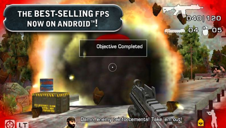 Android ve iOS Battlefield Benzeri 5 Oyun 1
