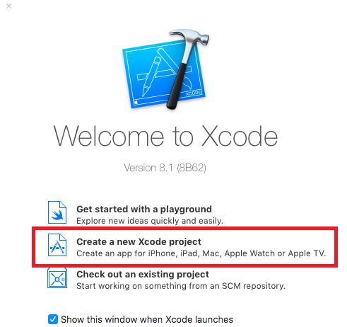xcode-create-project