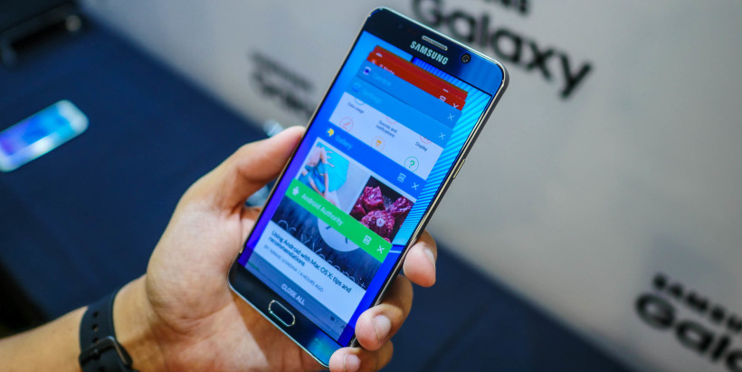 reset samsung galaxy note 5 manually
