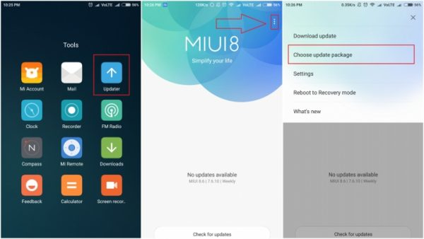 Install MIUI 9 on Redmi Note 4