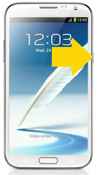 Samsung Galaxy Note 2 Recovery Mode'a Girme